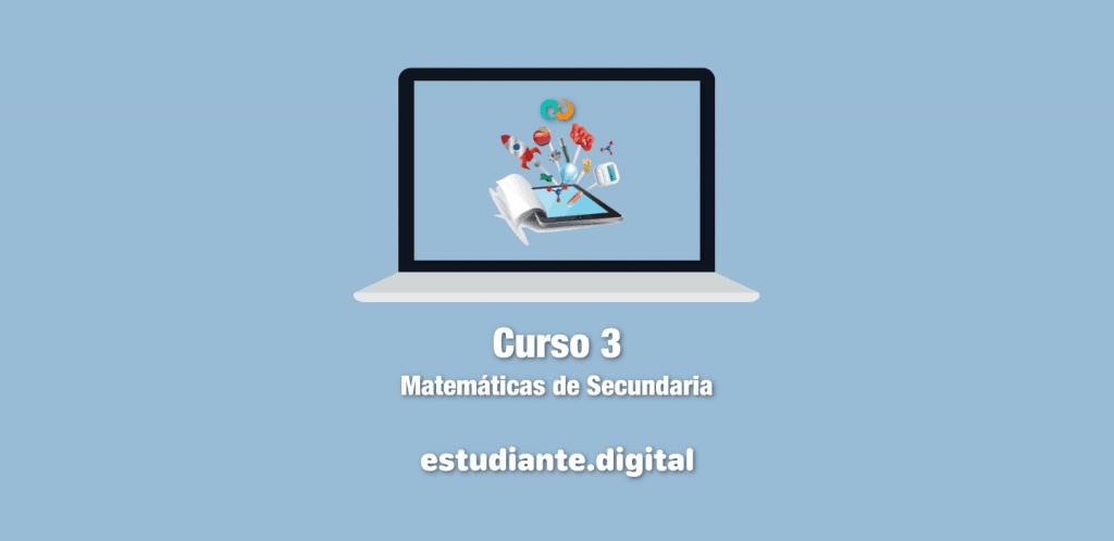 Matemáticas de Secundaria 3 - Celia Araujo